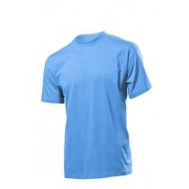 Футболка мужская ST 2000, размер M, цвет: голубой