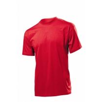 Футболка мужская ST 2000, размер XL, цвет: красный