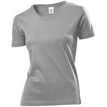 Футболка женская ST 2600, размер XL, цвет: серый