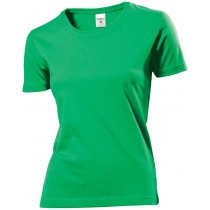 Футболка женская ST 2600, размер M, цвет: зеленый