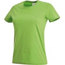 Футболка женская ST 2600, размер S, цвет: киви