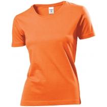 Футболка женская ST 2600, размер L, цвет: оранжевый