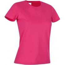 Футболка женская ST 2600, размер S, цвет: розовый