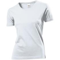 Футболка жіноча ST 2600, розмір S, колір: білий