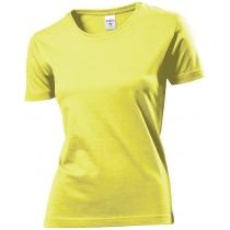 Футболка женская ST 2600, размер XL, цвет: желтый