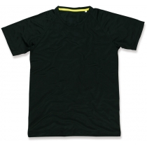Футболка мужская ST 8410, размер S, цвет: черный