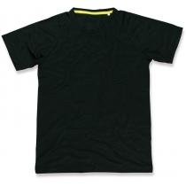 Футболка мужская ST 8410, размер L, цвет: черный
