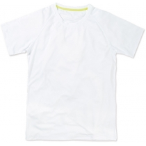 Футболка мужская ST 8410, размер S, цвет: белый
