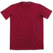 Футболка чоловіча ST 9600, розмір M, колір: бордо