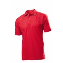 POLO мужское ST 3000, размер XXL, цвет: красный