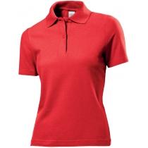 POLO женское ST 3100, розмір S, колір: червоний