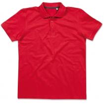 POLO мужское ST 9060, размер L, цвет: красный насыщеный