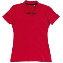 POLO женское ST 9150, размер M, цвет: красный насыщеный