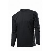 Футболка мужская длинный рукав ST 2500, размер L, цвет: черный