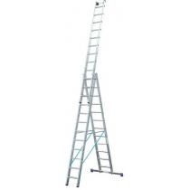 Драбина Stabilo 3х12 сходинок Profi KRAUSE Stabilo
