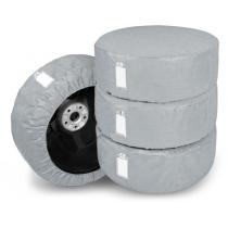 """Набор из 4 защитных чехлов для автомобильных шин и колес  """"4xSeason"""" L 14-17"""""""