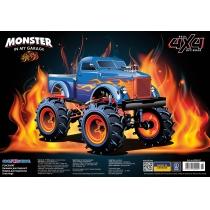 """Коврик для детского творчества """"Monster Car"""""""