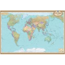 Політична карта світу офісна 158х108 см