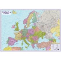 Європа. Політична карта 206х143 см