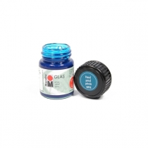 Краска витражная на водной основе холодной фиксации, Синяя света, 15мл, Glas, Marabu, 130639092
