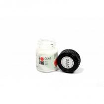 Краска витражная на водной основе холодной фиксации, Белая, 15 мл, Glas, Marabu, 130639070