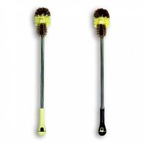 Щетка для унитаза хромированная  ручка 65 см ТМ МД