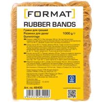 Резинки для денег Format, 1000г, желтая