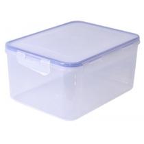 Контейнер для продуктів із затиском прямокутний 0,65 л