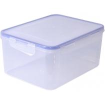 Контейнер для продуктів із затиском прямокутний 6,0 л