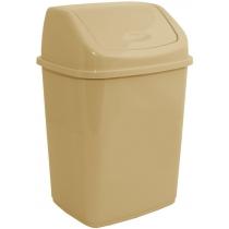 Відро для сміття кремове 5 л