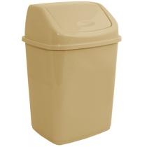 Відро для сміття кремове 10 л