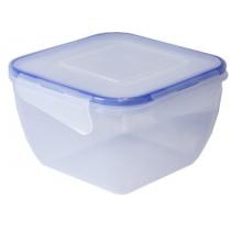 Контейнер для хранения с зажимом квадратный 0,45 л