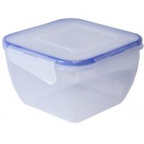 Контейнер для хранения с зажимом квадратный 0,9 л