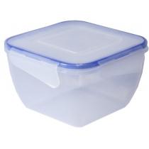 Контейнер для хранения с зажимом квадратный 1,5 л