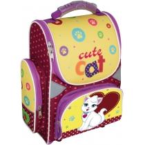 """Рюкзак школьный каркасный-трансформер 13,4"""", """"Cute Cat"""" 709"""