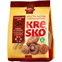 """Хрустящие фигурки """"Kresko"""" шоколадный вкус 170 гр"""