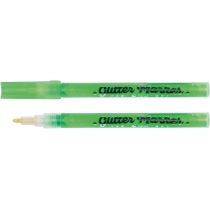 Маркер с блестками Glitter STA 1152, зеленый неоновый