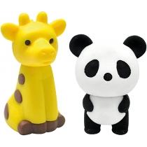 Набор: ластики детские  Zoo2