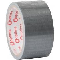 """Лента клейкая армированная """"Duct tape"""" 48мм х 10м Optima"""
