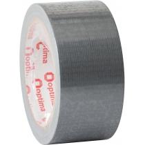 """Лента клейкая армированная """"Duct tape"""" 48мм х 20м Optima"""