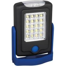 Фонарь HELPER Optima PROMO, 20 + 3 LED, синий