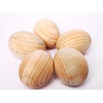 Набор яиц деревянных, H: 6см, 5шт