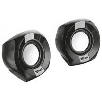 Комп.акустика TRUST Polo Compact 2.0 Speaker Set черный