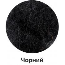 Шерсть для валяния кардочесана, Черный, 10г, ROSA TALENT