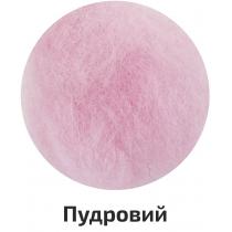 Шерсть для валяния кардочесана, Пудрово, 40г, ROSA TALENT