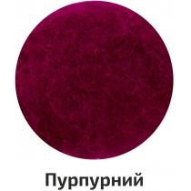 Шерсть для валяния кардочесана, Фиолетовый, 40г, ROSA TALENT