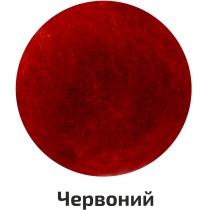Шерсть для валяния кардочесана, Красный, 40г, ROSA TALENT
