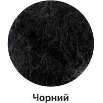 Шерсть для валяния кардочесана, Черный, 40г, ROSA TALENT