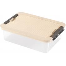 Бокс для хранения R-Box 9 л, крышка цвет ассорти