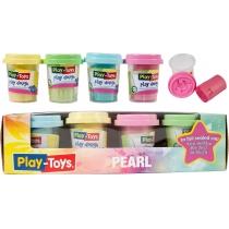 Маса для творчості Pearl асорті 4 кольори по 50 г